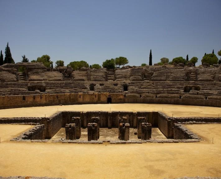 Spanien 2013 Amphitheater bei Malaga