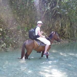 Flussdurchquerung II Dominikanische Republik 2013 IMG_1530